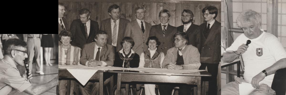 Hr. Zadro, Vorstand 1980, Hr. Kopecky